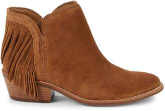 Lucky Brand Freedah Fringed Suede Booties