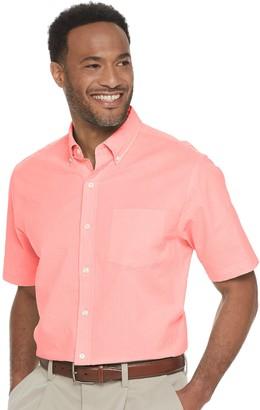 Croft & Barrow Men's Seersucker Button-Down Shirt