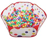 Adarl Home Garden 35inch Children Game Toys Pop Up Foldable Ocean Ball Pit Pool Indoor&Outdoor Kids Playhouse For Boys & Girls 1-8 Years Old(Balls Not Included) B1