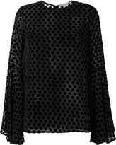 Camilla And Marc polka-dot 'Glaze' top - women - Nylon/Polyester/Spandex/Elastane/Rayon - 6
