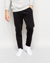 Cheap Monday Trousers Myth Tapered Zip Pockets In Black