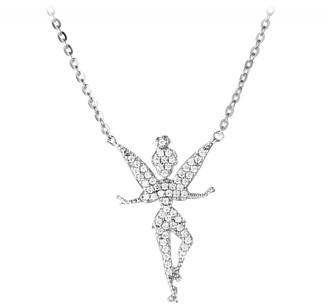 Disney Tinker Bell Necklace by Rebecca Hook