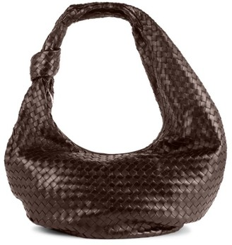 Bottega Veneta Maxi Jodie Leather Hobo Bag