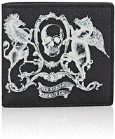 Alexander McQueen Men's Coat-Of-Arms Billfold