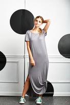 Shabby Apple L.A. Maxi Dress Grey