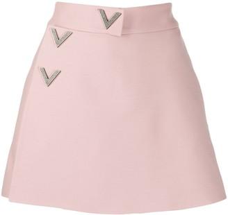 Valentino A-line mini skorts