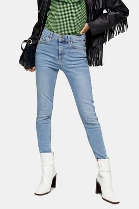 Topshop PETITE Bleach Pocket Jamie Skinny Jeans