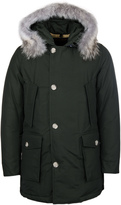 Woolrich Dark Moss Green Down Filled Arctic Parka