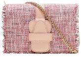 Banana Republic Micro-Chain Crossbody Tweed Bag