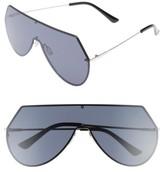 BP Women's 55Mm Shield Sunglasses - Black