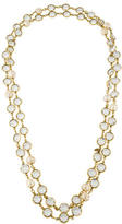 Chanel Crystal & Pearl Chain Necklace