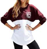 CFD Womens Mix Color Letters Printed Long Sleeve Sweatshirts XS