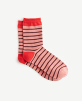 Ann Taylor Striped Trouser Socks