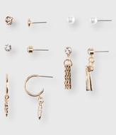 Faux Pearl Stud Earring 5-Pack