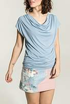 Smash Wear Rippled Periwinkle Top