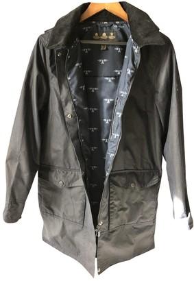 Barbour Navy Cotton Coat for Women