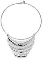 Robert Lee Morris Sculptural Bar Frontal Wire Collar Necklace Necklace