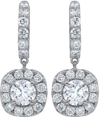 Diana M Fine Jewelry 18K 1.50 Ct. Tw. Diamond Earrings