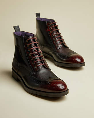 Ted Baker TWREHS Leather brogue boot