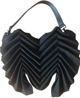 Issey Miyake Black Suede Handbags