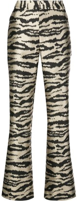 Cynthia Rowley Hensley flared trousers