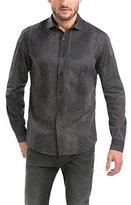 Desigual Men's Normal Waist Long sleeve Casual Shirt - Black -