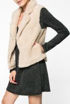 Everly Faux Fur Vest