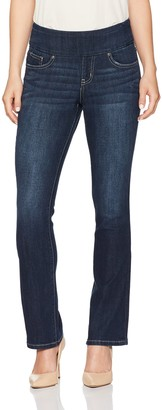 Jag Jeans Women's Petite Paley Boot Pull on Jean in Surrel Denim
