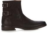 John Varvatos Julian Distressed Leather Boots