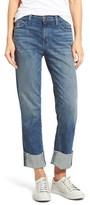 Current/Elliott Women's The Camdyen High Waist Straight Leg Jeans