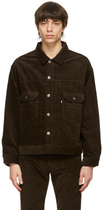 Levis Made and Crafted Brown Corduroy Oversized Jacket