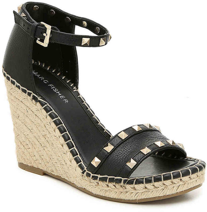 cdbabf191e Marc Fisher Black Wedges - ShopStyle