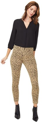 NYDJ Ami Printed Skinny Jeans with Tailored Welt
