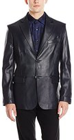 Bugatchi Men's Athos Leather Blazer