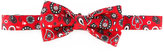 fe-fe printed bow tie - unisex - Silk - One Size