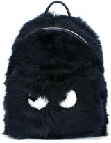 Anya Hindmarch 'Mini Eyes' backpack - women - Sheep Skin/Shearling - One Size