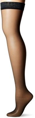 Hanes Women's Silk Reflections Thigh Highs