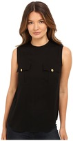 DSQUARED2 Silk Georgette Sleeveless Top