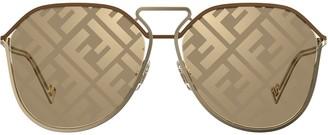 Fendi Eyewear Monogram Sunglasses