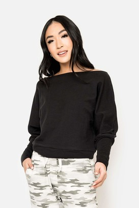 Gibson Cuddle Me Off Shoulder Pullover