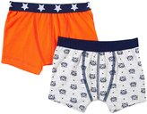 Petit Bateau 2 Pack Boxers (Toddler/Kid) - Grey/Orange - 5 Years