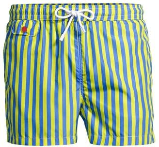 Kiton Striped Swim Trunks