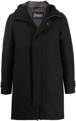 Herno Hooded Wool Coat