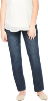Motherhood Indigo Blue Petite Secret Fit Belly Straight Leg Maternity Jeans