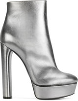 Casadei platform ankle boots - women - Leather/Nappa Leather/Kid Leather - 37