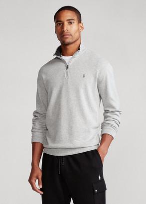Ralph Lauren Luxury Jersey Quarter-Zip Pullover