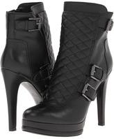 Nine West Aspida (Black Leather) - Footwear