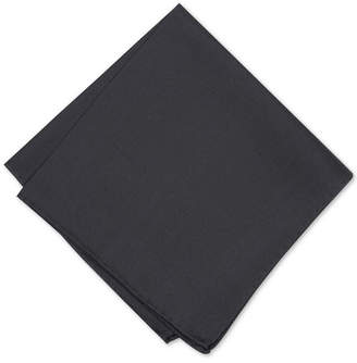 Alfani Men Solid Twill Silk Pocket Square