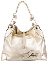 Anya Hindmarch Grained Leather Shoulder Bag