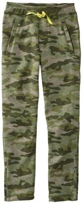 L.L. Bean L.L.Bean Boys' Mountain Fleece Pants, Print